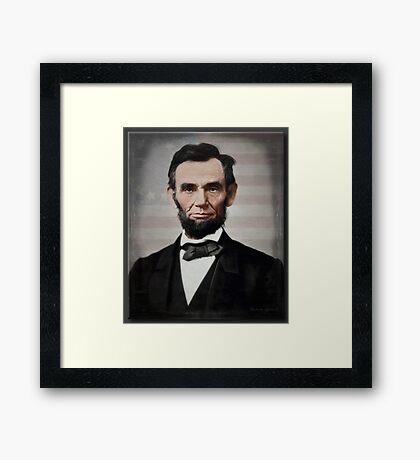 Abraham Lincoln 1863 Framed Print