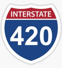 Interstate 420 Sticker