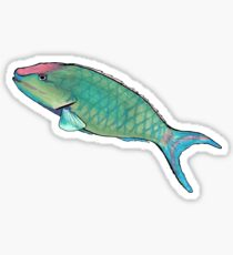 Disco Fish Sticker