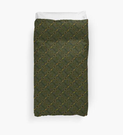 Juniper Green Swirl Duvet Cover