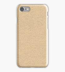 Retro Pale Maple Wood Grain iPhone Case/Skin