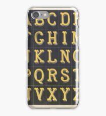 ABC iPhone Case/Skin