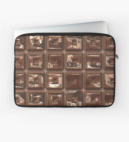 Golden Cubes Design by Julie Everhart Laptop Sleeve