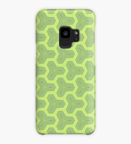 Retro Green Design by Julie Everhart Case/Skin for Samsung Galaxy