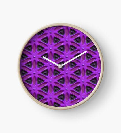 Passion for Purple Design by Julie Everhart Clock