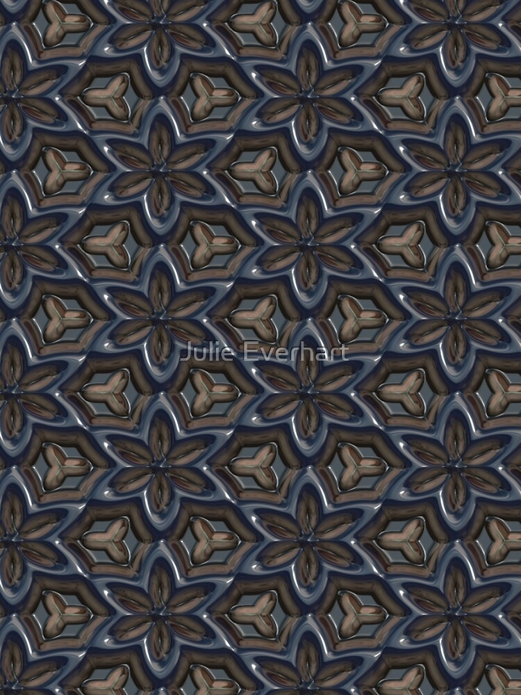 Metallic Flowers by Julie Everhart by julev69
