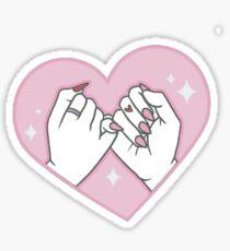Pink-y Promise Sticker
