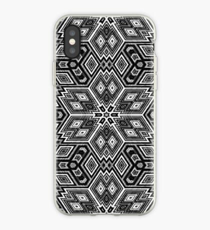 Black and White Cubes by Julie Everhart iPhone Case