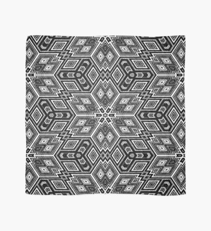 Black and White Cubes by Julie Everhart Scarf