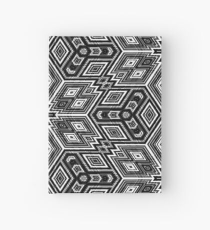 Black and White Cubes by Julie Everhart Hardcover Journal