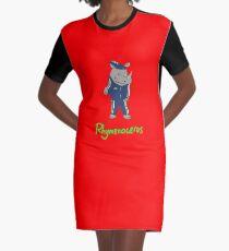 Rhymenoceros Graphic T-Shirt Dress