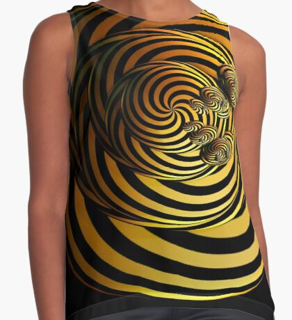 I Go In Circles by Julie Everhart Contrast Tank