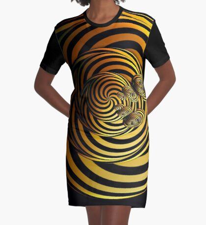 I Go In Circles by Julie Everhart Graphic T-Shirt Dress