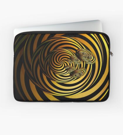 I Go In Circles by Julie Everhart Laptop Sleeve