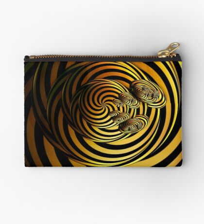 I Go In Circles by Julie Everhart Zipper Pouch