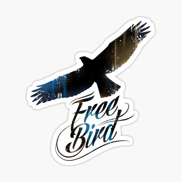 Free bird Sticker