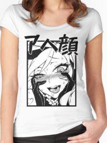 a h e g a o ( ͡° ͜ʖ ͡°) Women's Fitted Scoop T-Shirt