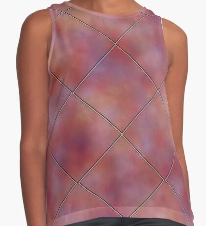 Muted Mauve Tile by Julie Everhart Sleeveless Top