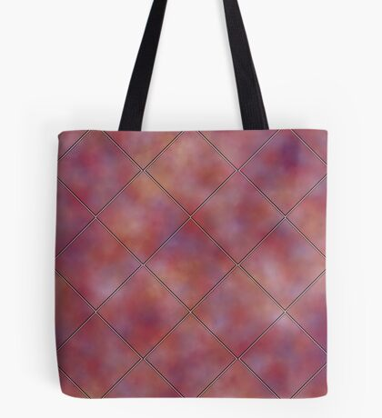 Muted Mauve Tile by Julie Everhart Tote Bag