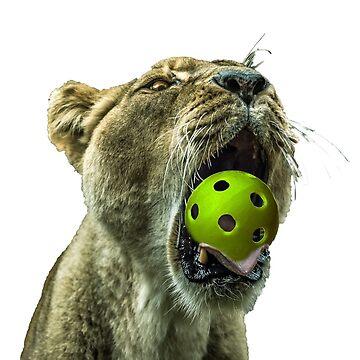 Pickleball Lion King Series T-shirt by pickleball