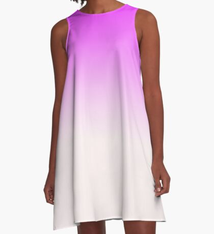 Ombre in Pink by Julie Everhart A-Line Dress