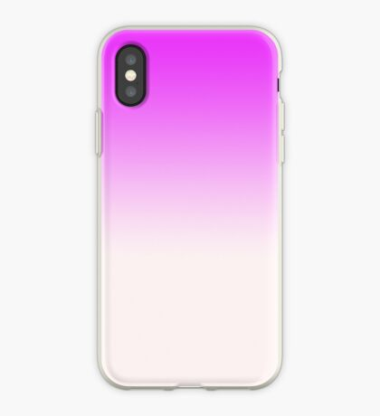 Ombre in Pink by Julie Everhart iPhone Case