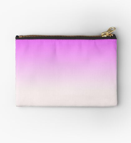 Ombre in Pink by Julie Everhart Zipper Pouch