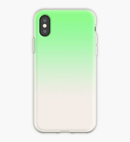 Ombre in Green by Julie Everhart iPhone Case
