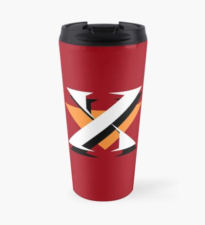 Mr. X (Dr. Wily) Logo Travel Mug