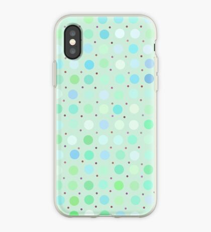 Polka Dots by Julie iPhone Case