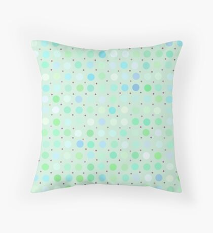 Polka Dots by Julie Throw Pillow