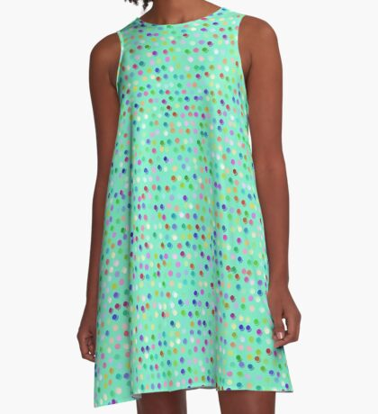 Tiny Dots by Julie Everhart A-Line Dress