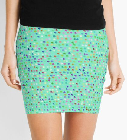 Tiny Dots by Julie Everhart Mini Skirt