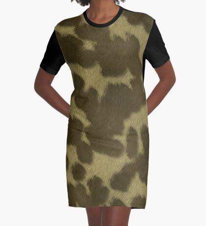 Animal Fur  by Julie Everhart Graphic T-Shirt Dress