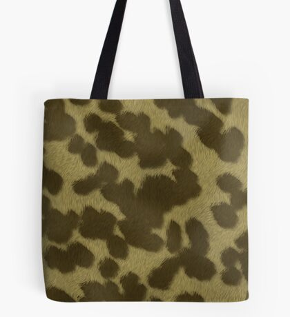 Animal Fur  by Julie Everhart Tote Bag