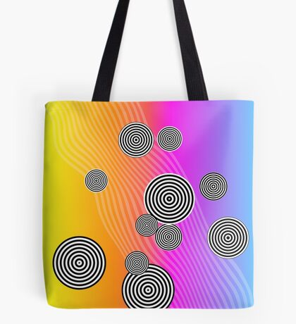 Back to the 80's by Julie Everhart Tote Bag