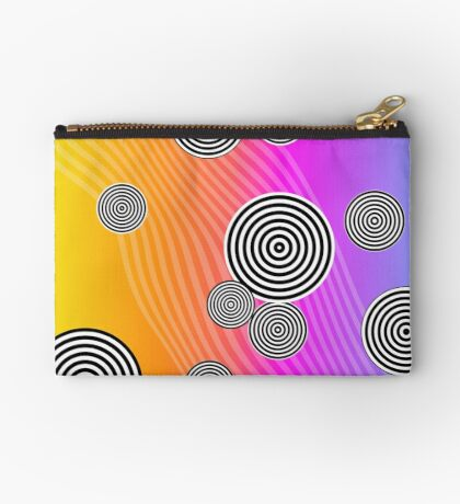 Back to the 80's by Julie Everhart Zipper Pouch