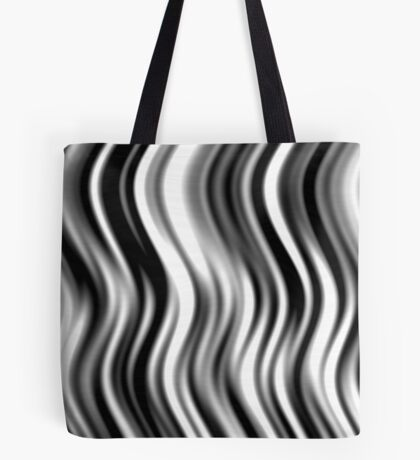 Wavy Zebra by Julie Everhart Tote Bag
