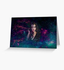 Tarjeta de felicitación Lauren Jauregui Galaxy 2