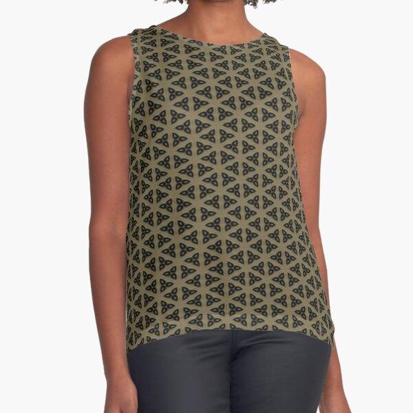 Digital Weave by Julie Everhart Sleeveless Top