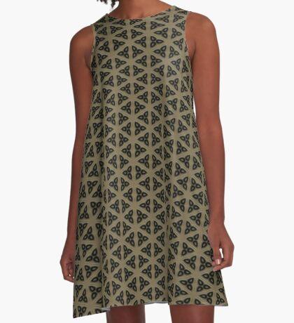 Digital Weave by Julie Everhart A-Line Dress
