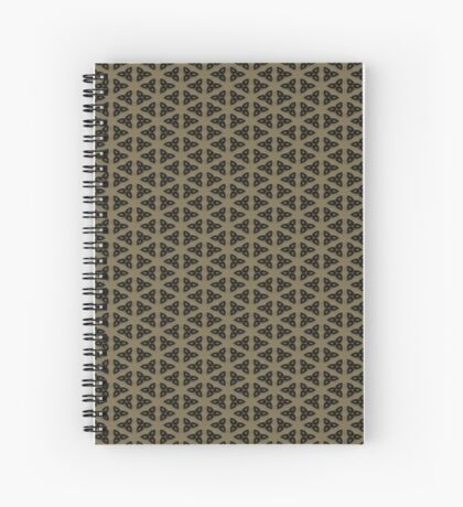 Digital Weave by Julie Everhart Spiral Notebook