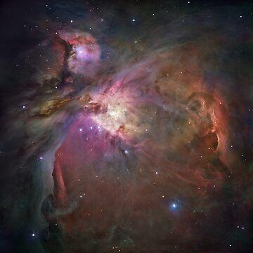 Galaxy nebula print by Ethanj2