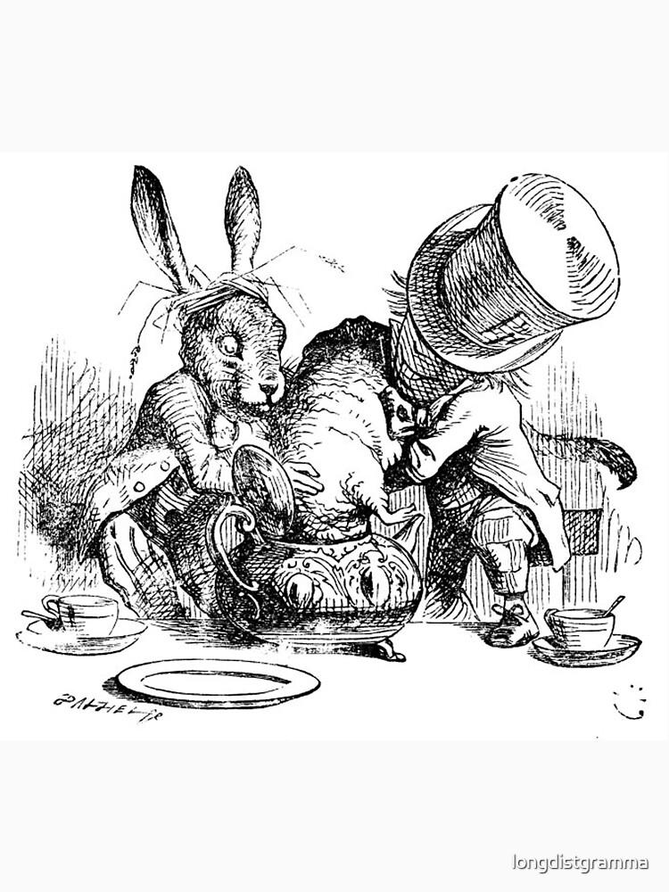Mad Hatter, Alice in Wonderland by longdistgramma