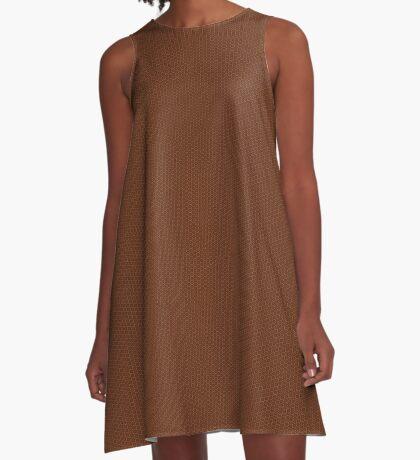 Rust Weave by Julie Everhart A-Line Dress