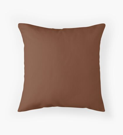 Rust Weave by Julie Everhart Throw Pillow