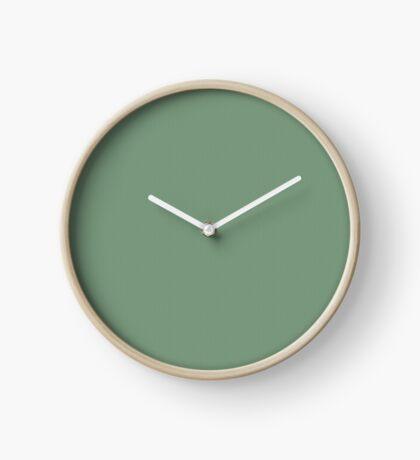 Sage Weave by Julie Everhart Clock