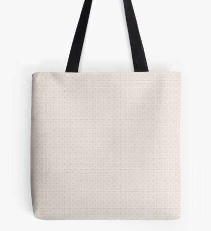 Classic Beige with Polka Dots Tote Bag