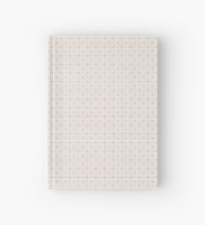 Classic Beige with Polka Dots Hardcover Journal