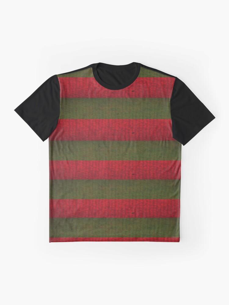 Freddy Krueger Sweater Graphic T Shirt By Tonyara Redbubble